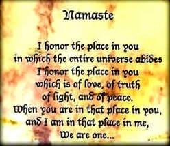 The world adopts the Indian `Namaste'