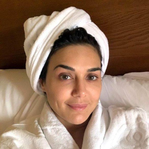 Preity Zinta after a quarantine